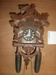 German Black Forest Made Working Welby 8 Day Cuckoo Clock Ck2812