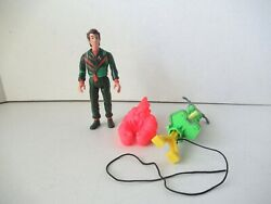 Real Ghostbusters Peter Venkman With Bouncing Bazooka Action Figure Kenner 1984