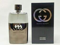 Gucci Guilty Cologne by Gucci 3 oz EDT Spray for Men NEW In BOX
