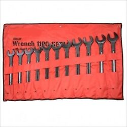 11 Piece Metric Jumbo Size Large Wrench Tool Set Up To 50 Mm
