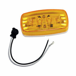 401585kit Wesbar Led Clearance/side Marker Light Amber 58 With Pigtail