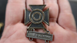Wwii Us Army Sterling Sharpshooter Badge Sub Machine Clasp