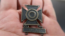 Wwii Us Army Sterling Sharpshooter Badge Rifle