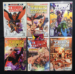 Teen Titans 2011 4th Series 0,1-30 Complete Run And Annuals 1-3 New 52 Dc
