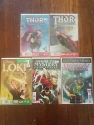 Loki Agent Of Asgard 1 3rd Print Journey Into Mystery 622 632 Thor 1 12 Lot Nm-