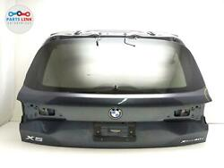 2019-2020 Bmw X5 G05 Rear Upper Lid Lift Tail Gate Hatch Glass Trim Panel Cover