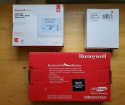 Honeywell Heat Pump/conventional Digital Thermostat With Sensor And Wireless Mod