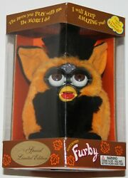 1999 Hasbro Tiger Electronic Furby Model 70-887 Limited Autumn Witch Sealed Nip