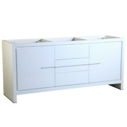 Fresca Fcb8172 Allier 71-1/4 Plywood Vanity Cabinet Only - - White