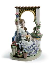 Lladro Andalusian Spring 01001964 Made In Spain