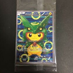 Pokemon Cards Rayquaza Poncho Pikachu 230 And 231 /xy-p New Unopened Japan F/s