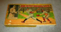 Babe Ruth Baseball Game 1936 Made By Milton Bradley All Pieces  Displayable