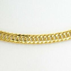 Jewelry 22k Yellow Gold Necklace About20.4g Free Shipping Used