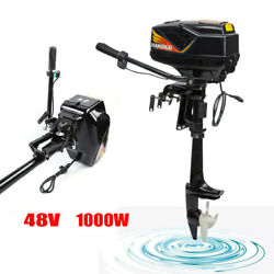 48v Outboard Motor Boat Engine Brushless Motor 1000w 3000 Rpm Heavy Duty Ce