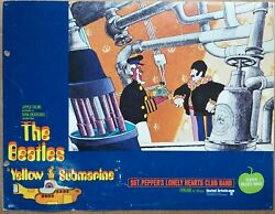 The Beatles Yellow Submarine Sgt. Pepper's 1968 Lobby Card Set Lc2474