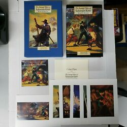 The Savage Tales Of Solomon Kane Signed Gary Gianni Ed. Of 1050 Wandering Star