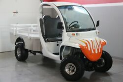 2001 Gem 825 Golf Car Cart - Lifted Utility Nev Electric Truck With New Tires