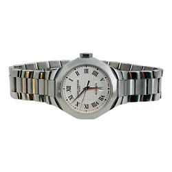 Baume And Mercier Riviera Stainless Silver Dial Swiss Automatic Ladies Watch 65623
