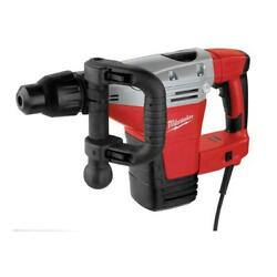 Sds Max Demolition Hammer Corded Drill Electric Heavy Duty Crank Power Tool Red