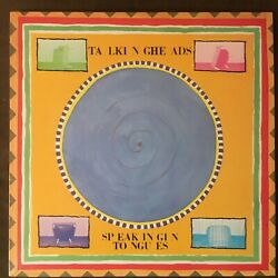 Talking Heads Speaking In Tongues - Rare 1983 1st Press Sire Lp Sterling - Nm