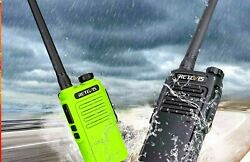 Waterproof Walkie Talkie Radio With Push To Talk Portable Communication Device