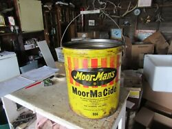 Vintage 5 Gallon Moormanand039s Moormacide Oil Can Only 1 On Ebay Lot 21-45-ch