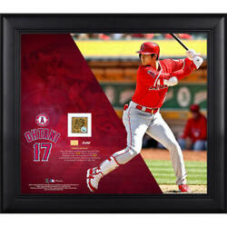 Shohei Ohtani Mlb Debut Authentic Memorial Collage
