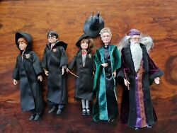2018 Collection Mattel Harry Potter Dolls With Accessories. Free Post Aus