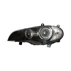 For Bmw X5 07-11 Replace Driver Side Replacement Headlight Lens And Housing