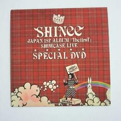 Shinee Japan 1st Album The First Showcase Live Special Dvd Free Shipping