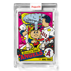 Topps Project 70 Card 357 - Mike Trout By Ermsy -presale-