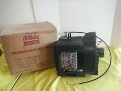 Nos Ford 1956 Air Conditioning Evaporator And Fan Motor With A C Drain Cover