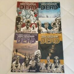 The Walking Dead Comic Book Series Volume 1 2 3 4 Excellent
