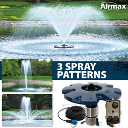 Airmax Ecoseries 1/2 Hp Floating Fountain Aerates Ponds Up To 1/4 Acre