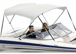 Shademate 80194 White Bimini Top Poly Fabric/boot Only3bow6and039l36andrdquoh54-60andrdquow-new