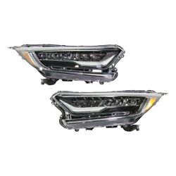 Headlights Lamps Set Of 2 Left-and-right 33100tlaa11, 33150tlaa11 Lh And Rh Pair