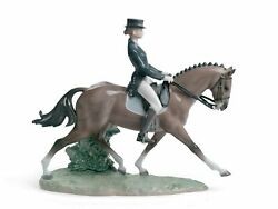 Lladro Dressage 01008418 Made In Spain
