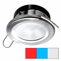 I2systems Apeiron A1120 Spring Mount Light - Round - Red Cool White Andamp Blue