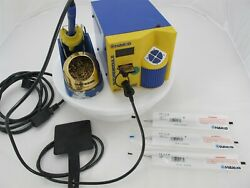 Hakko Fm-202 Soldering Station With Fm-2021 Iron And 3 New T7-llb Tips