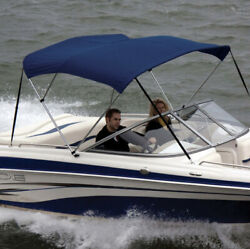 """Shademate 80312 Royal Bimini Top Poly Fabric And Boot Only,4bow,8'l,54h,54""""-60""""w"""
