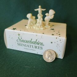 Dept 56 Snowbabies Miniatures You Can't Find Me Painted Pewter 76376 1992