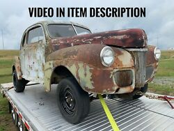 1941 Ford Coupe Steel Body 2 Door ⭐️ Hotrod Rat Rod Gasser Project Barn Find