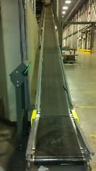 18 Wide Knapp Brand 56and039 Long Incline Conveyor - 230/460vac 2 Motorized Section