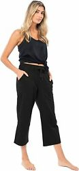 Sexy Basics Womenand039s 3 Pack Soft French Terry Fleece Casual/active Comfy Capri Jo