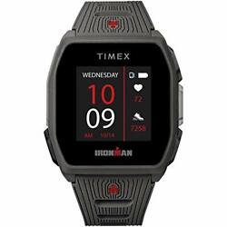 Timex Ironman R300 Gps Smartwatch With Heart Rate 41mm – Dark Gray With Silic...