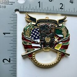 Badge Coin Police Marine Security Guard Detachment Embassy Msg Det Consulate