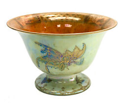 Wedgwood Porcelain Iridescent Luster Bowl By Daisy Makeig-jones In Butterfly