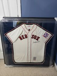 Ted Williams Autographed Jersey In Mint Condition And Authenticity By Beckett