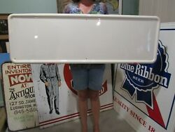 Vintage Original 1940and039s 50and039s New Old Stock Sign Blanks Gas And Oil Soda 12 Signs