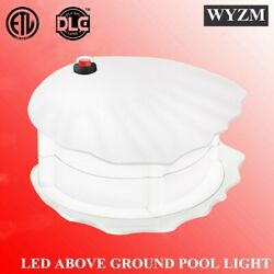 Led Above Ground Swimming Pool Wall Light Rgb+white Pool Light Ip68 Color Change